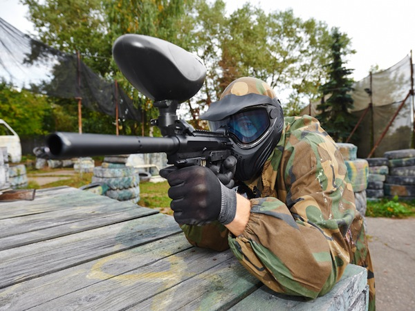 Paintball Camelford, Nr Newquay, Cornwall