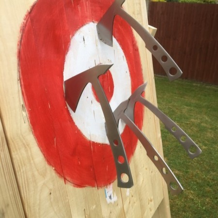 Axe Throwing Sutton At Hone, Kent