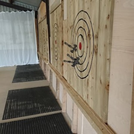 Axe Throwing Whitland, Pembrokeshire