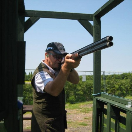 Clay Pigeon Shooting Leaden Roding, Essex