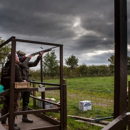 Clay Pigeon Shooting Witton Gilbert, Co. Durham, County Durham